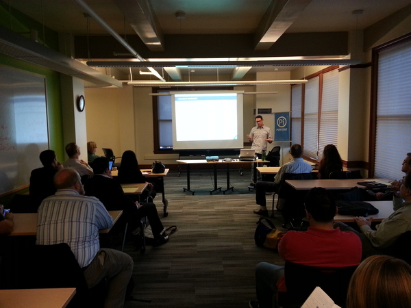 SEO training from George in Seattle